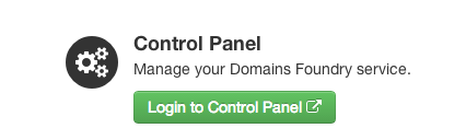 Login to Control Panel - DomainsFoundry